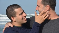 AngelSense cofounder and CEO Doron Somer invented the system for the safety of his son Itamar, 18. Photo courtesy