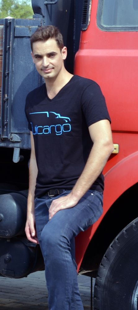Avishai Trabelsi, founder of Quicargo. Photo: courtesy