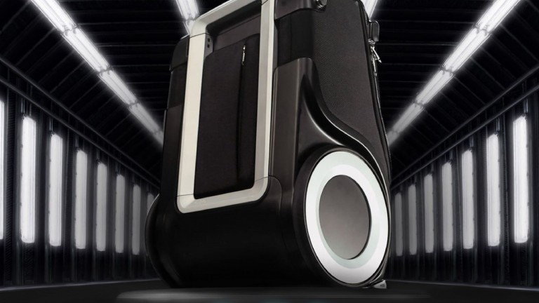 G-RO aims to disrupt the luggage industry. Photo courtesy