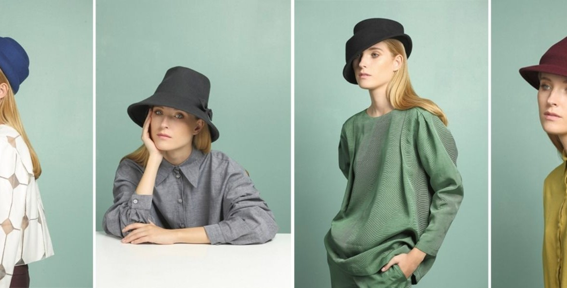 A preview of Justine Hats' 2016 winter collection. Photo by Yifat Verchik