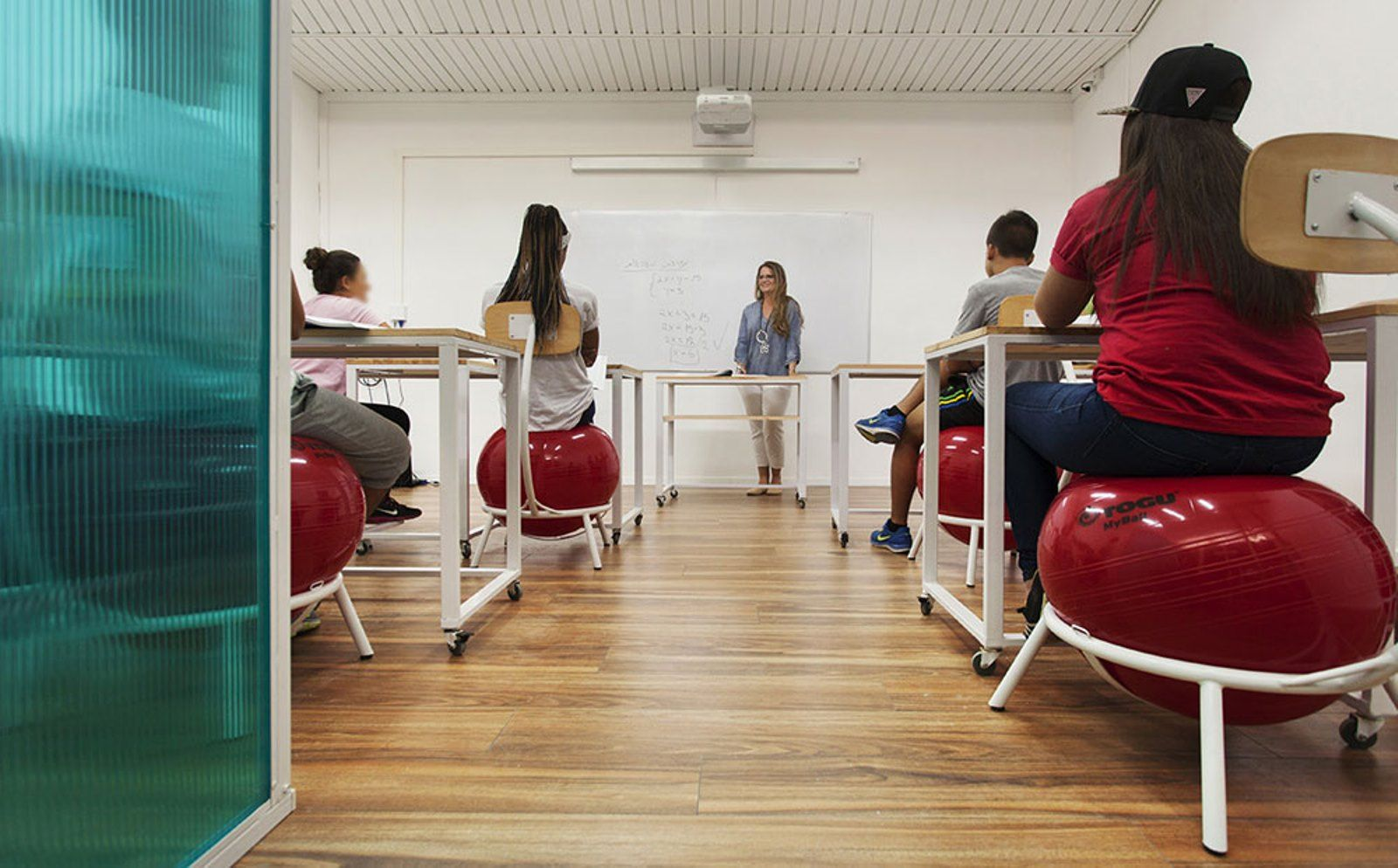 Innovative Math Classrooms ~ Israeli school builds cool classroom for adhd teens