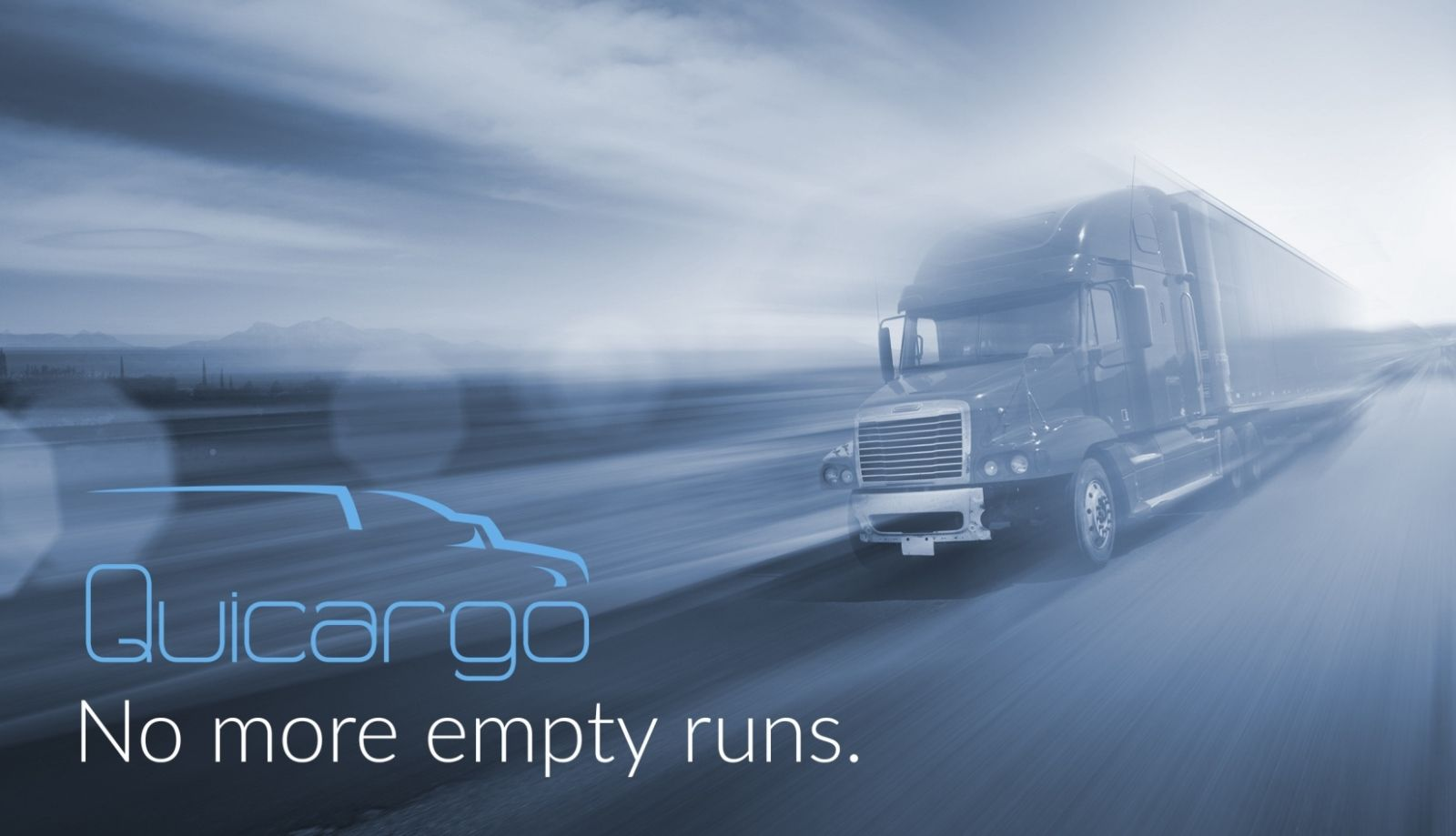 Quicargo's online platform helps carriers sell empty cargo spaces to shippers needing to transport goods in their area. Image: courtesy