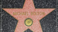 Michael Bolton's starstar on Hollywood Walk of Fame. (Shutterstock)