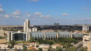 An aerial view of Beersheva. Photo by Leonard Zhukovsky / Shutterstock.com