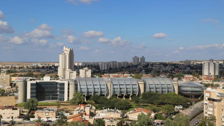 An aerial view of Beersheva. Photo by Leonard Zhukovsky / Shutterstock.com