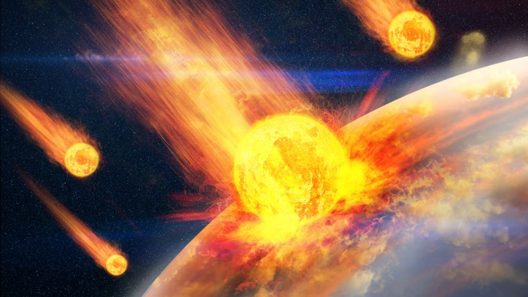 Moot Court discusses what happens if an asteroid is headed for earth. Photo by Shutterstock