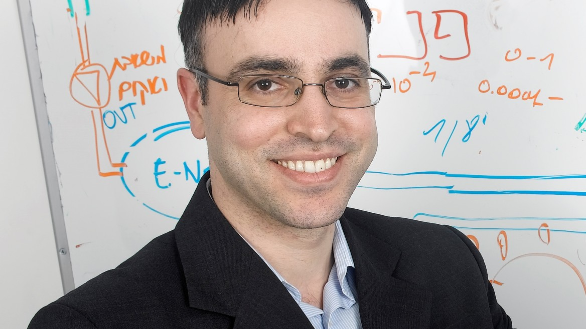 Prof. Hossam Haick. Photo courtesy of the Technion