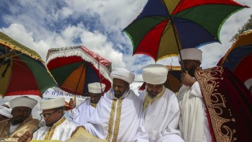 The Ethiopian holiday of Sigd. Photo by Flash90