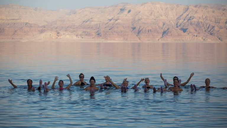 Photo of the Dead Sea by Hadas Parush/FLASH90