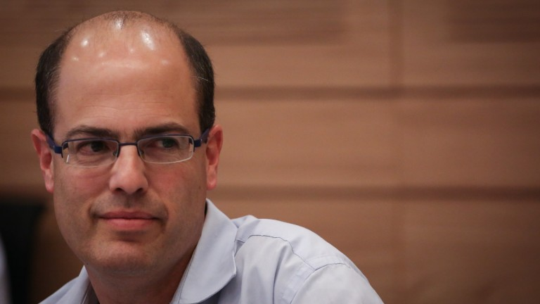 Photo of Chief Scientist Avi Hasson by Hadas Parush/FLASH90