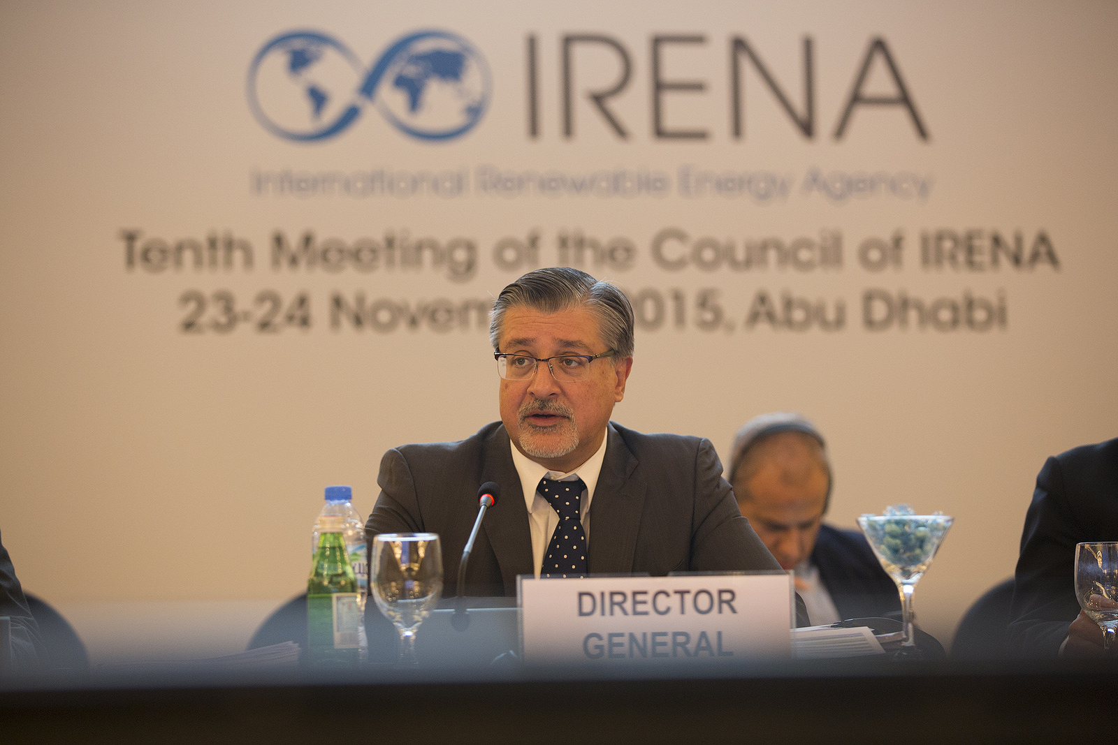 IRENA Director-General Adnan Z. Amin. Photo courtesy of IRENA