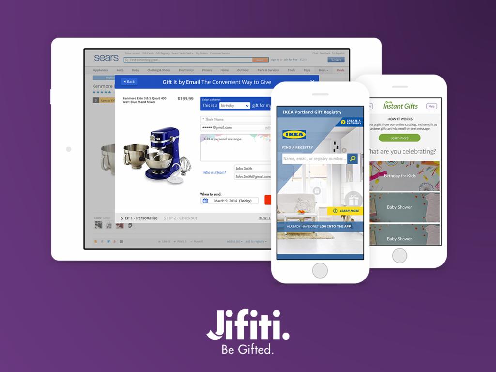 Jifiti offers a dedicated ecommerce platform, a widget or a plug-and-play gift registry platform.