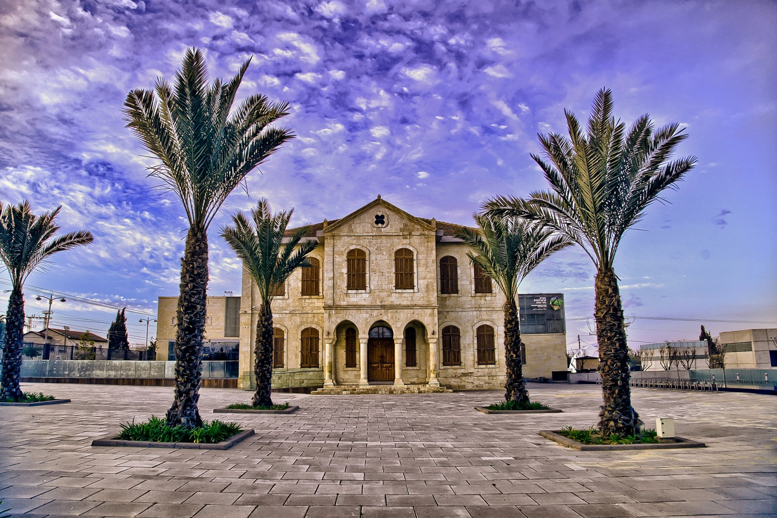 The Carasso Science Park, the largest museum of its kind in Israel, is fronted by a vintage Turkish building. Photo courtesy