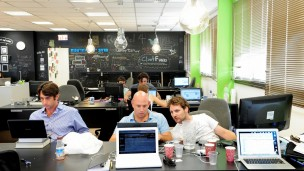 The Library co-working space is on the Tel Aviv Startup Tour. Photo courtesy of Tel Aviv Municipality.