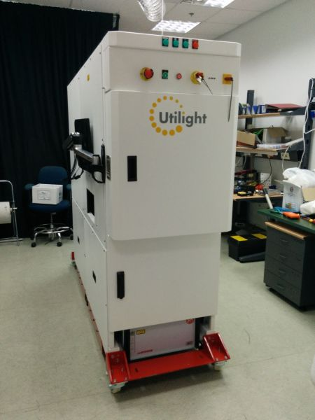 The Utilight PTP 3D printer for solar cells. Photo: courtesy