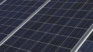 Enlight Renewable Energy's solar park has 180,000 panels. Photo by Nati Shohat/Flash90