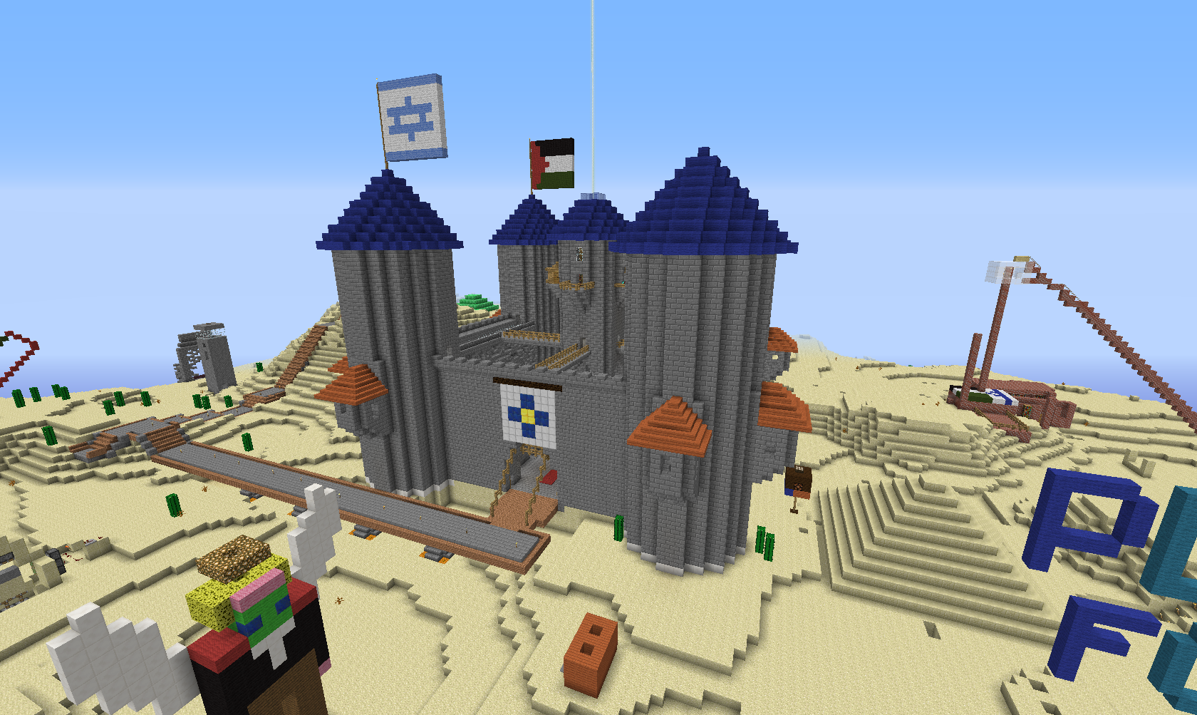 Gaming as a game changer for peace israel21c for Virtual build a house
