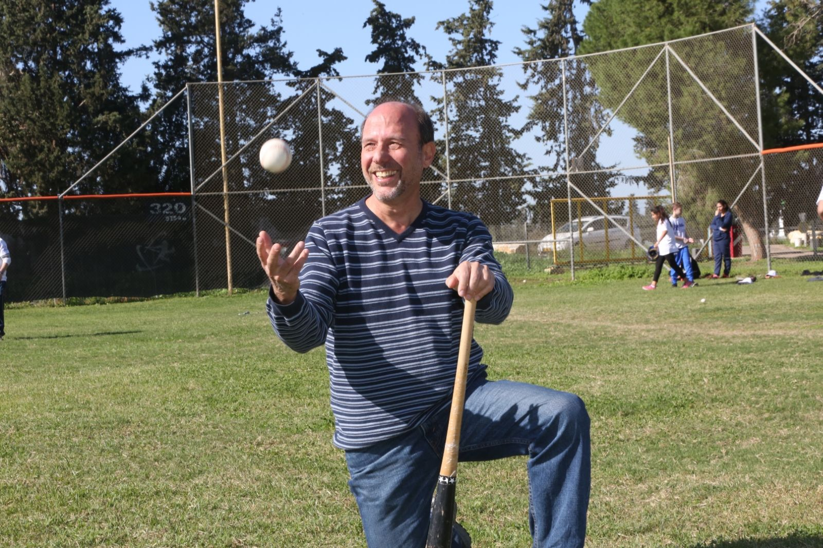 Peter Kurz, manager of the JNF's Project Baseball. Photo by Yossi Zamir/JNF