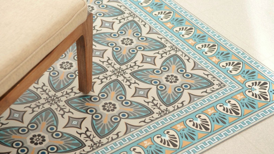 Sacred Geometry Of Old Tiles Brought To Life On Vinyl