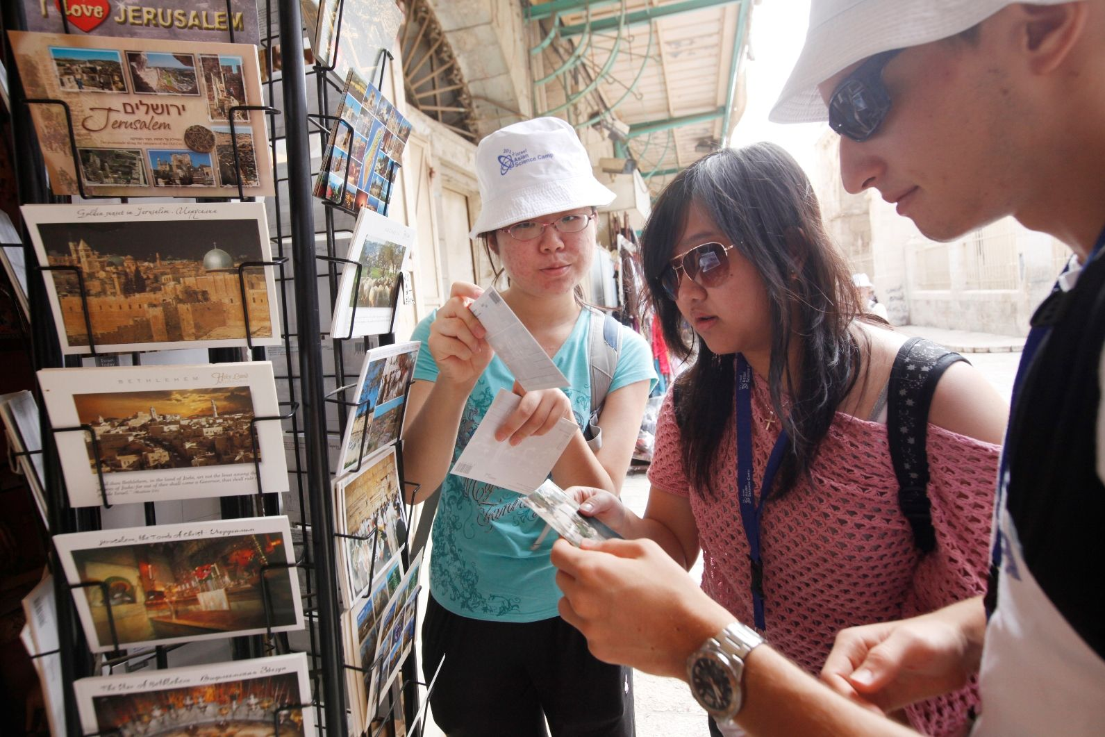 The Israel Tourism Ministry is expecting more tourists from the Far East. Photo by Miriam Alster/FLASH90