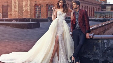 Dress by Galia Lahav. Photo OZY