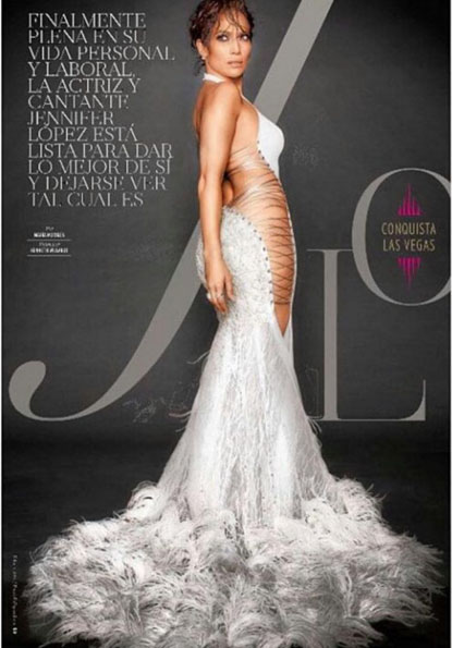 Jennifer Lopez wears Galia Lahav