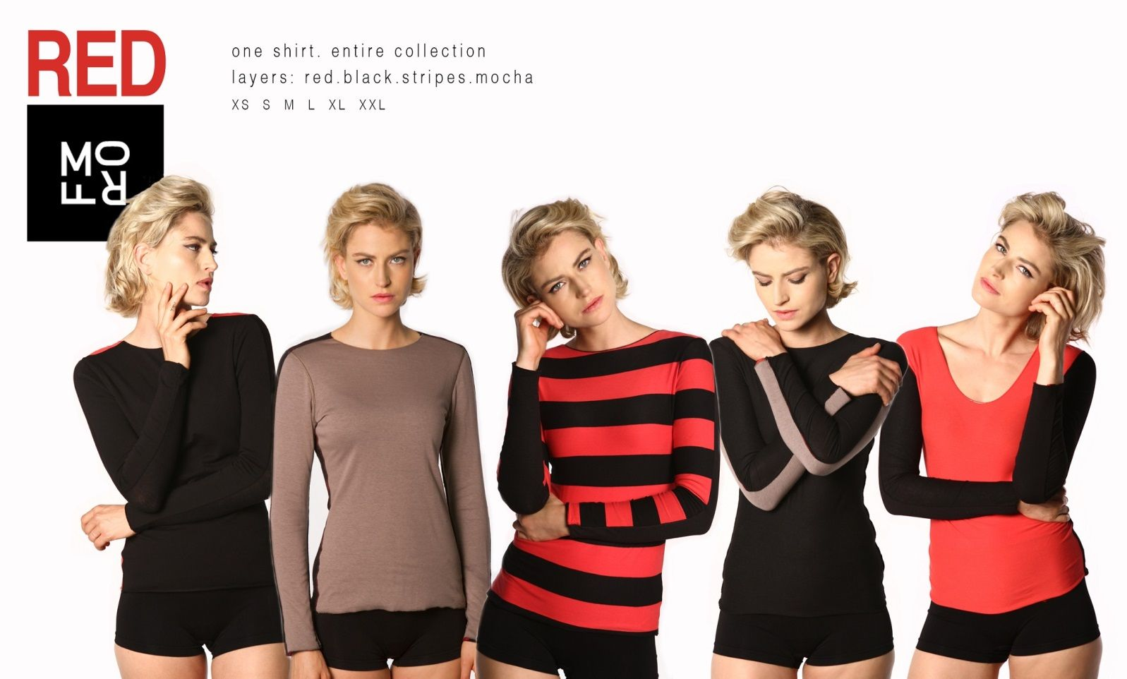 This is Morf's Red Collection, but it's really just one shirt. Photo via morf-fashion.com