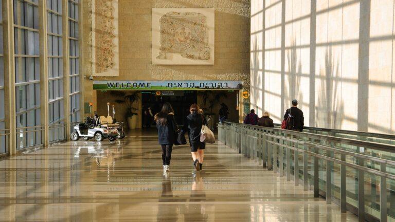Photo of Ben-Gurion International Airport by Elena Dijour/Shutterstock.com