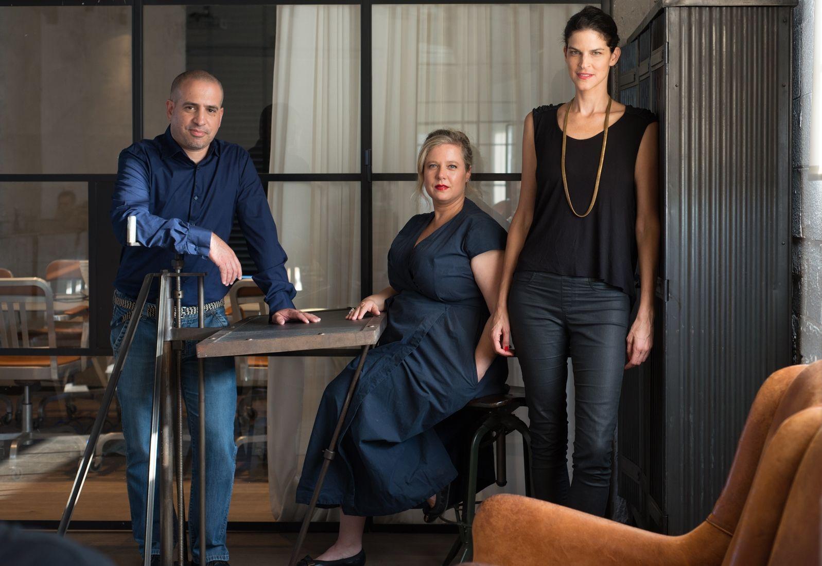 Splacer cofounders Lior Ash, Adi Biran and Lihi Gerstner. Photo: courtesy