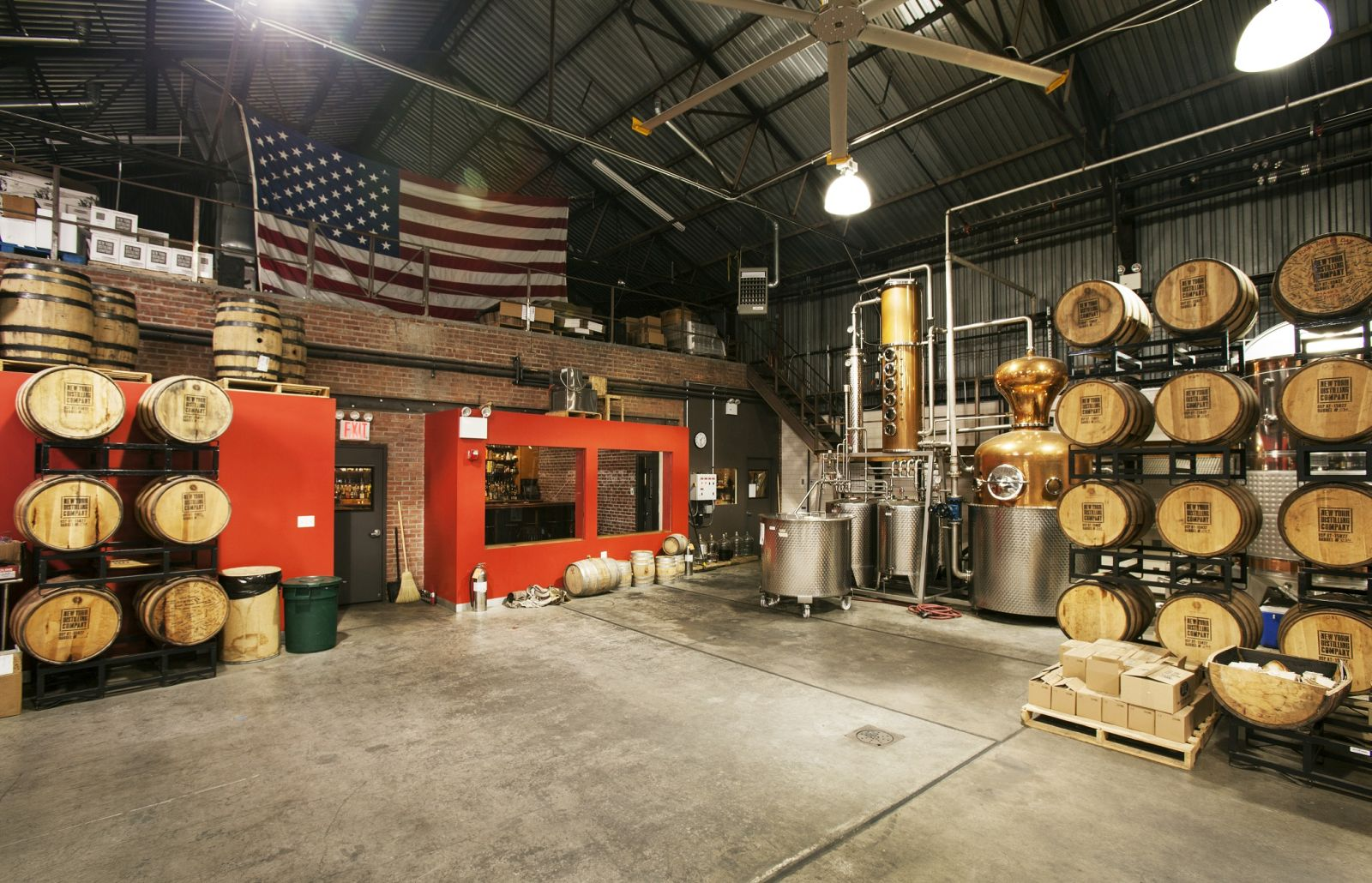 Imagine your event at the Spirit Manufactory in Williamsburg. Photo courtesy of Splacer
