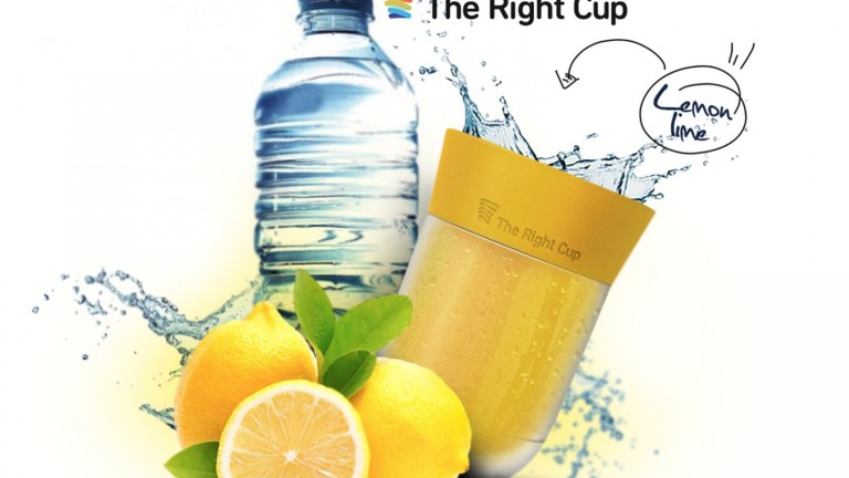 Lemon is one of the first flavors to be infused in The Right Cup. Photo: courtesy
