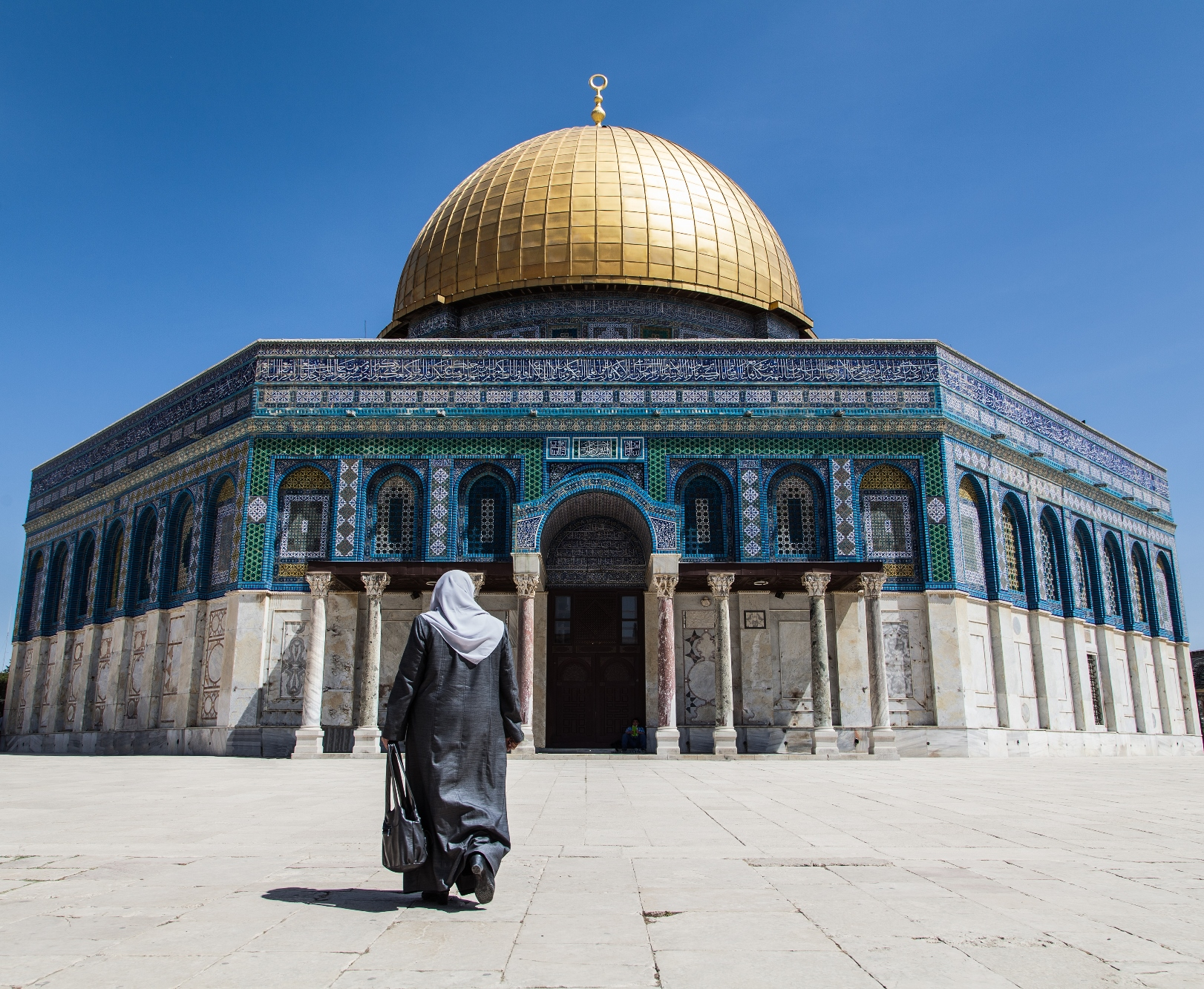 Dome of the Rock in Jerusalem. Photo by Tomer Eliash