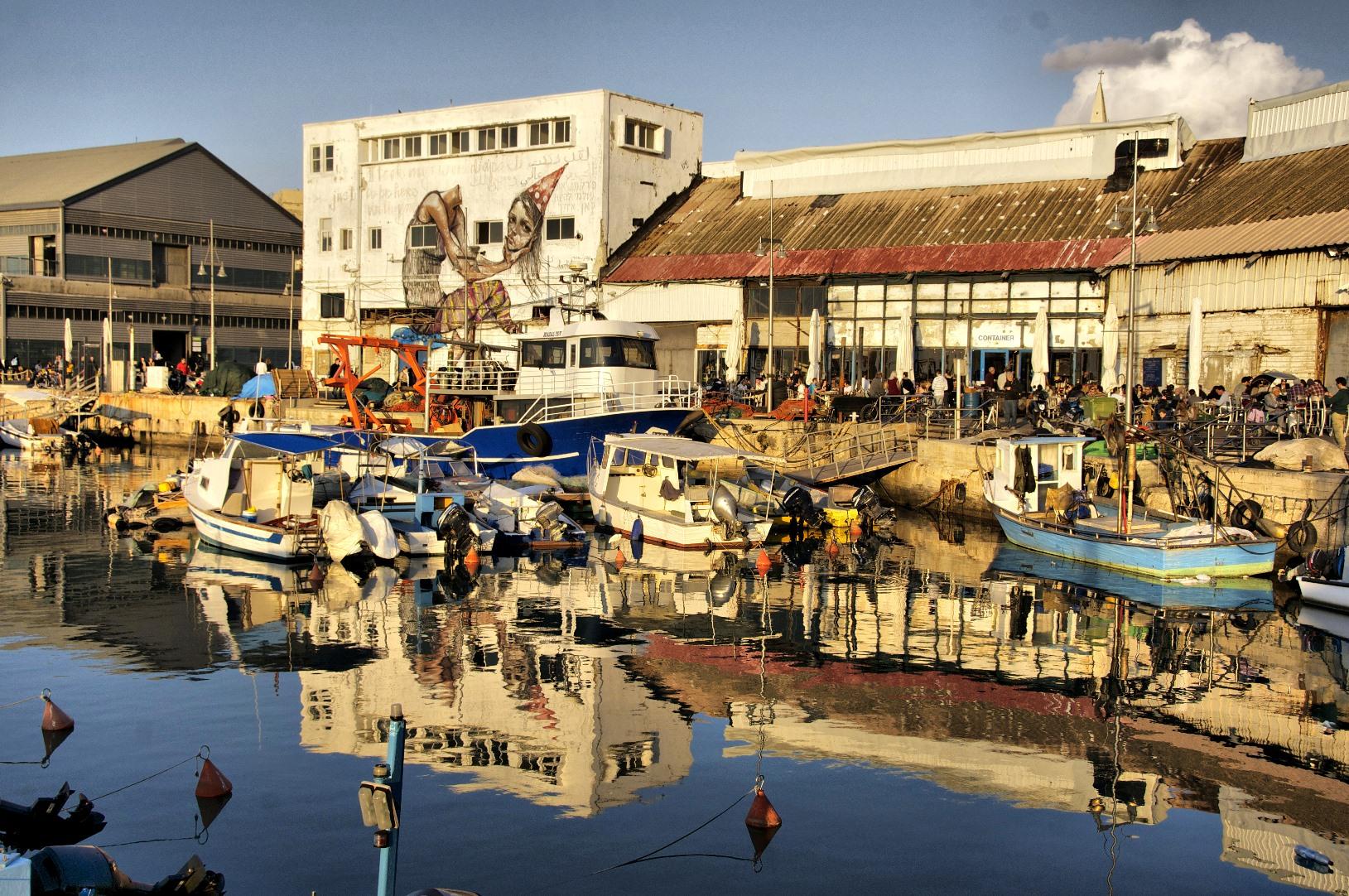 Jaffa Port photo by Yigal Dekel.