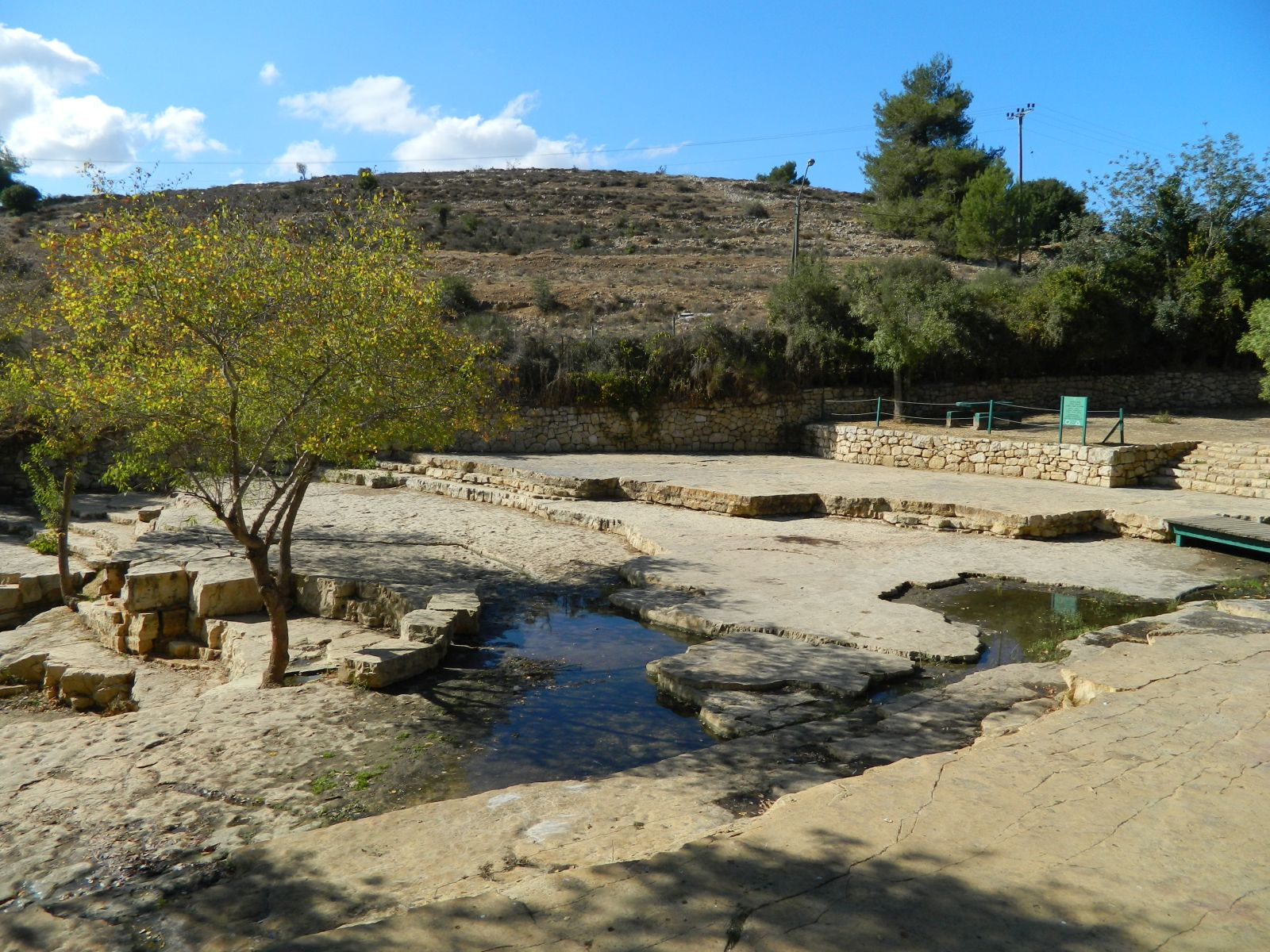 Ein Hemed National Park photo via PikiWiki Israel.