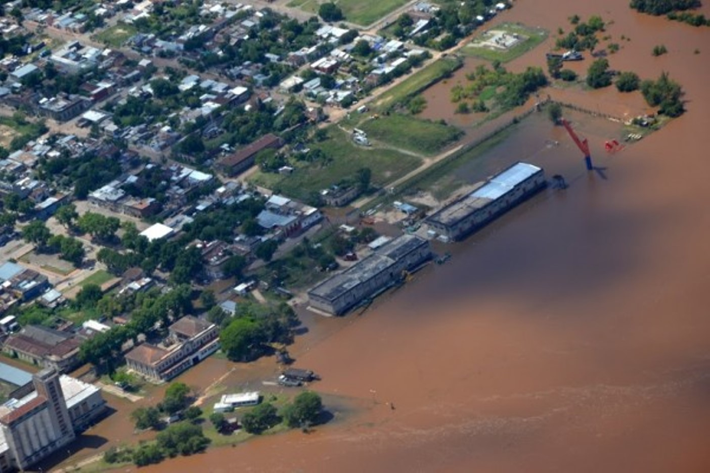 Floods in Uruguay, December 2015. Photo courtesy of Sistema Nacional de Emergencias