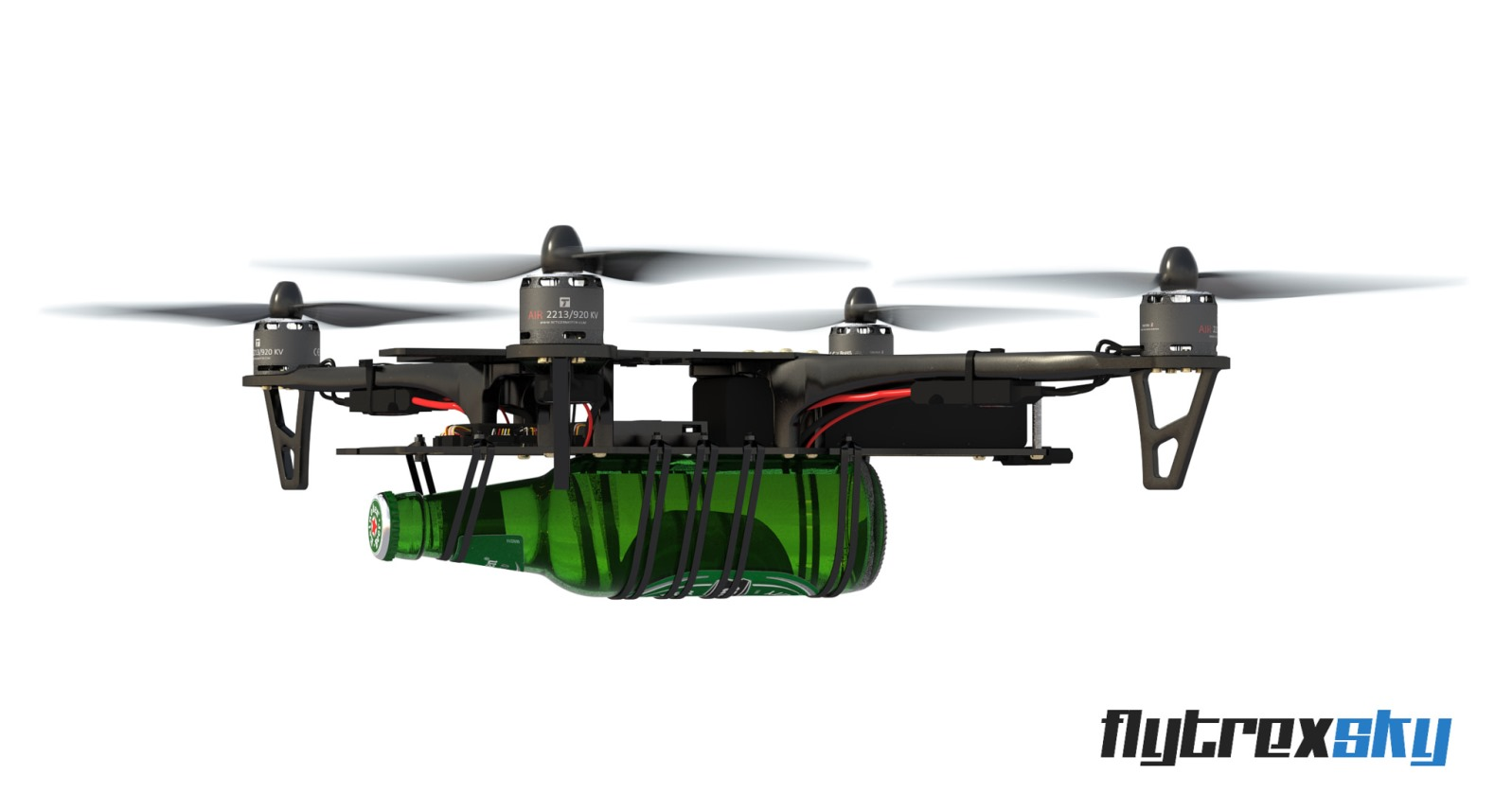 Flytrex allows for personal deliveries via drone. Photo: courtesy