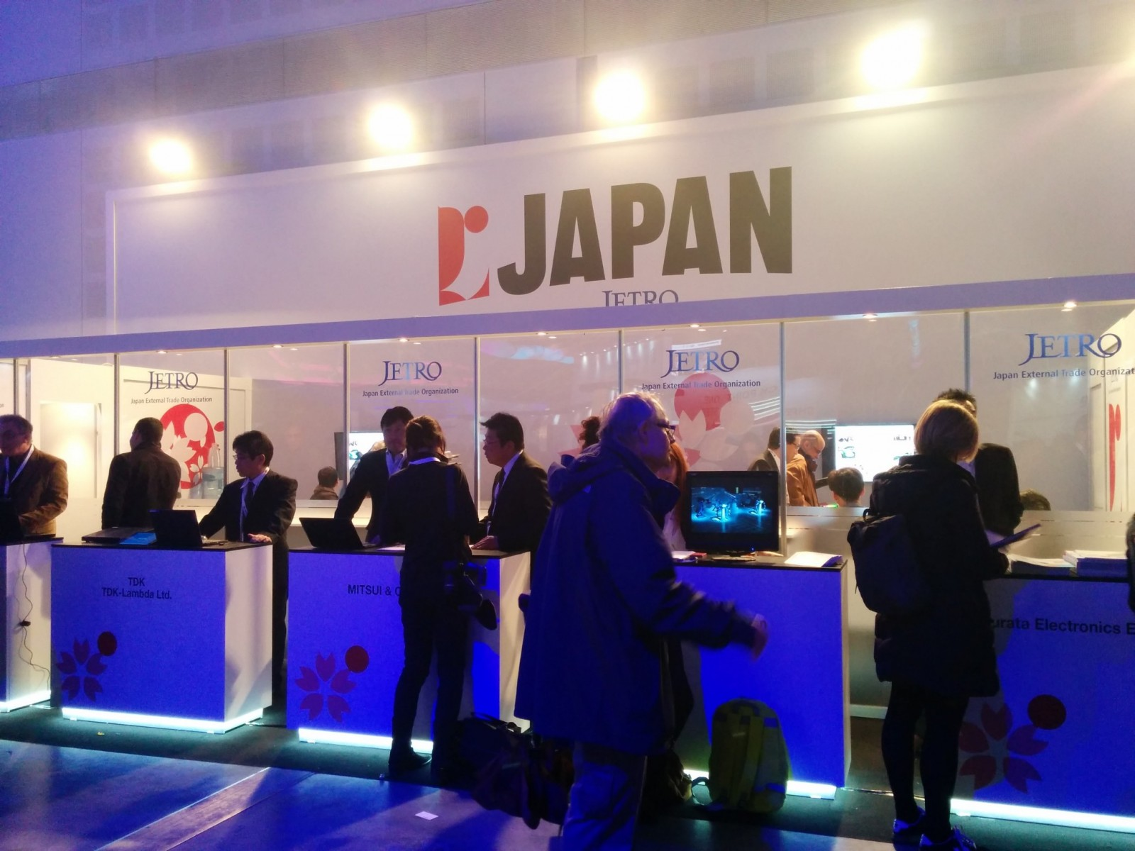 Japan sent a large delegation to Cybertech 2016. Photo by Viva Sarah Press