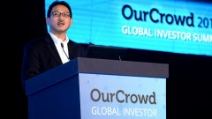 Searching for Israeli technologies. Honda's Nick Sugimoto speaks to attendees at the OurCrowd Global Investor Summit on January 25th. Photo courtesy