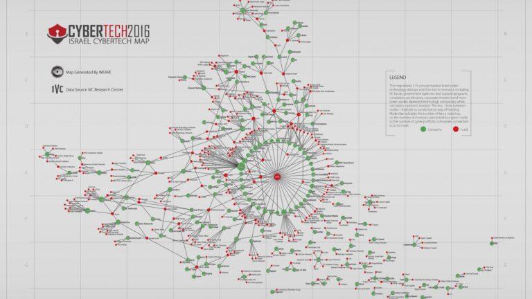 Interactive Map Spotlights Israeli Cyber Expertise ISRAELc - Israeli map
