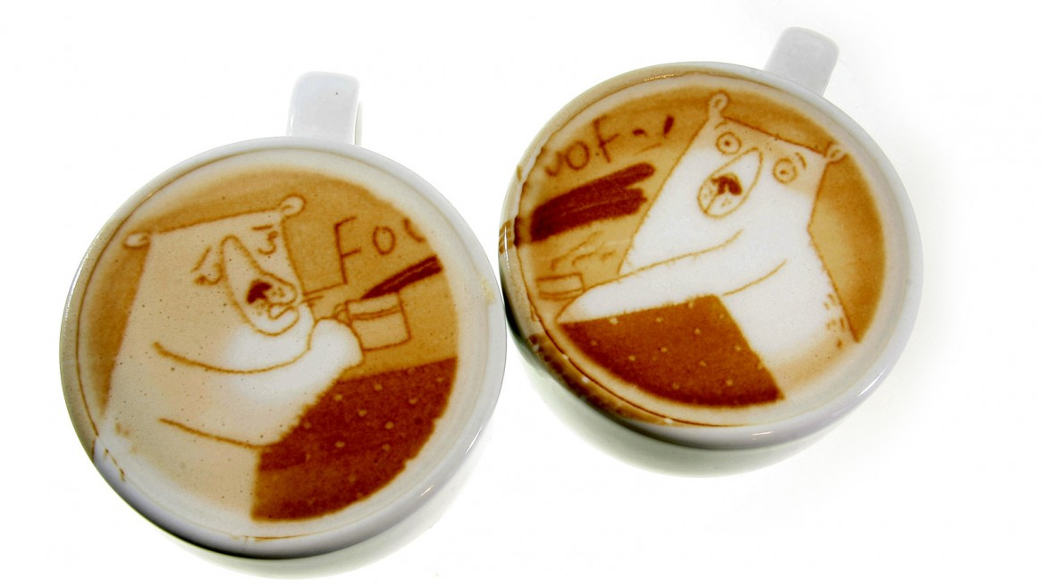 Ripples has started a coffee-art trend. Photo: courtesy