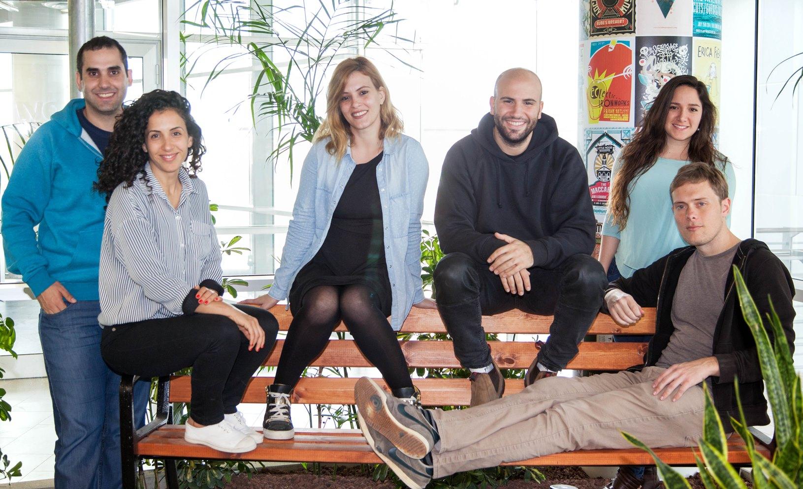 The Moovit team in Tel Aviv. Photo: courtesy