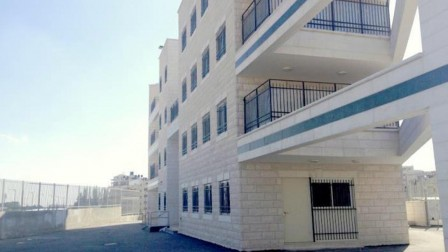The School of Technology in Beit Hanina opened in January 2015 for gifted East Jerusalem Arab boys to learn STEM subjects. Photo courtesy of the Jerusalem Education Administration