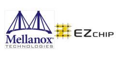 Mellanox-EZchip logos