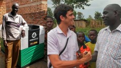 Homebiogas brings a bio-digester to an Ugandan orphanage. Photo: courtesy