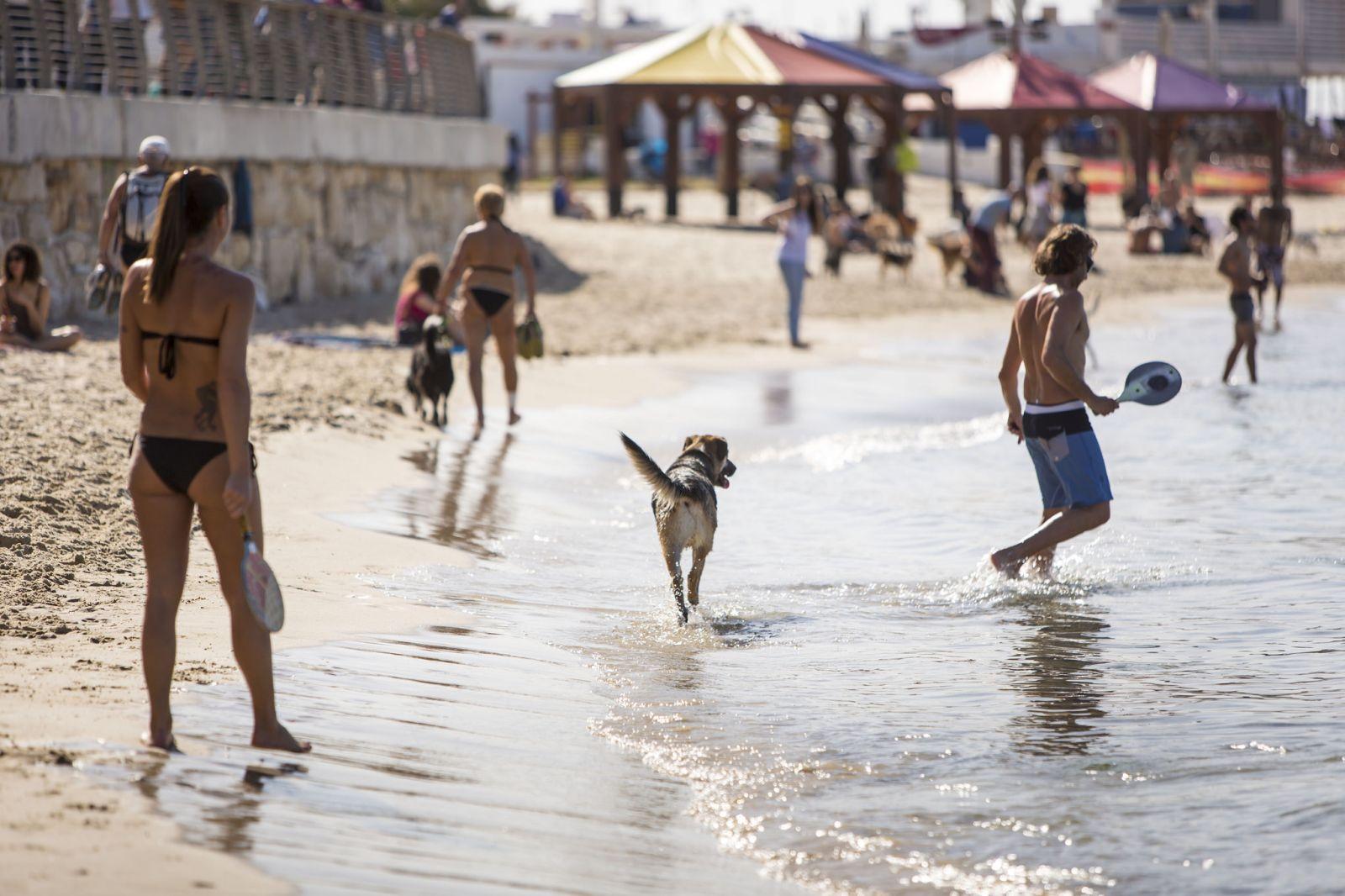 Photo of the Tel Aviv beachfront by Kfir Bolotin.