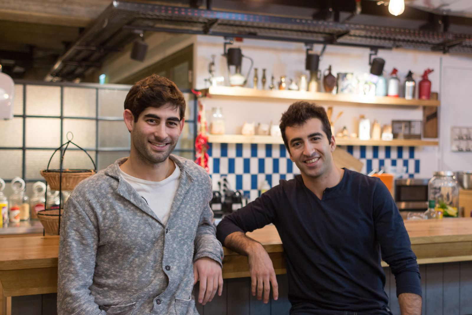 StoreSmarts cofounders Ilai Fallach, left, and Eyal Ben-Eliyahu. Photo: courtesy