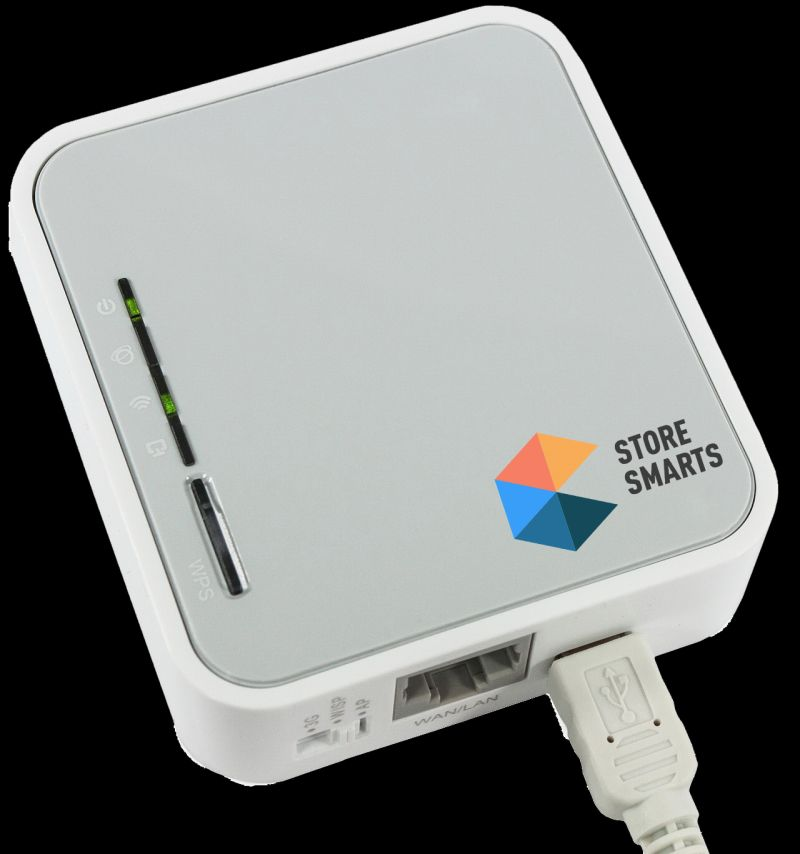 StoreSmarts can be installed on a $30 router or on the store's computer. Photo: courtesy