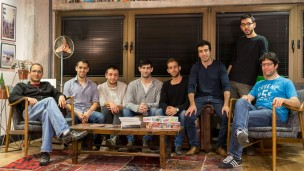 The StoreSmarts team in Tel Aviv. Photo: courtesy