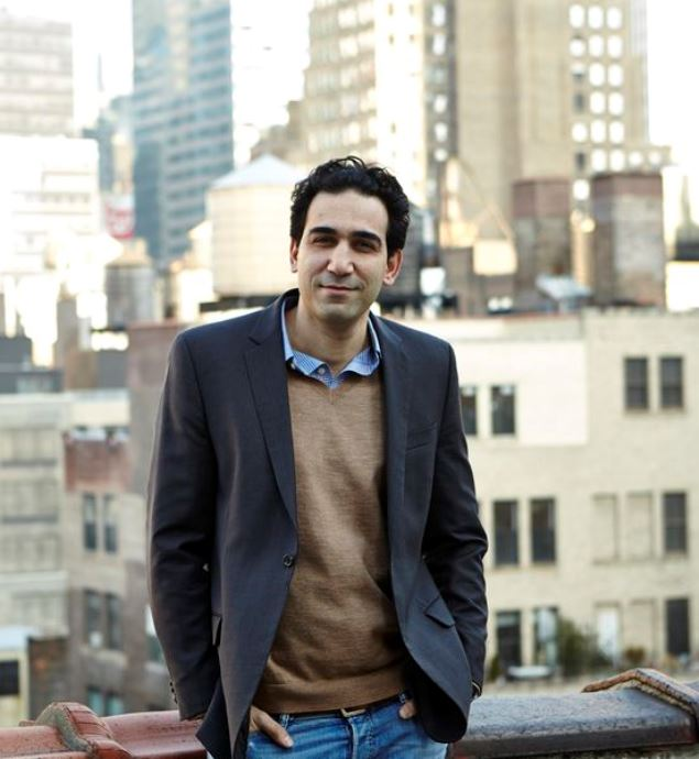 Eyal Bino in New York. Photo: courtesy