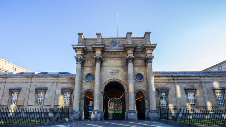 Oxford University Press is the largest university press in the world, and the second-oldest, after Cambridge University Press. Photo by Shutterstock